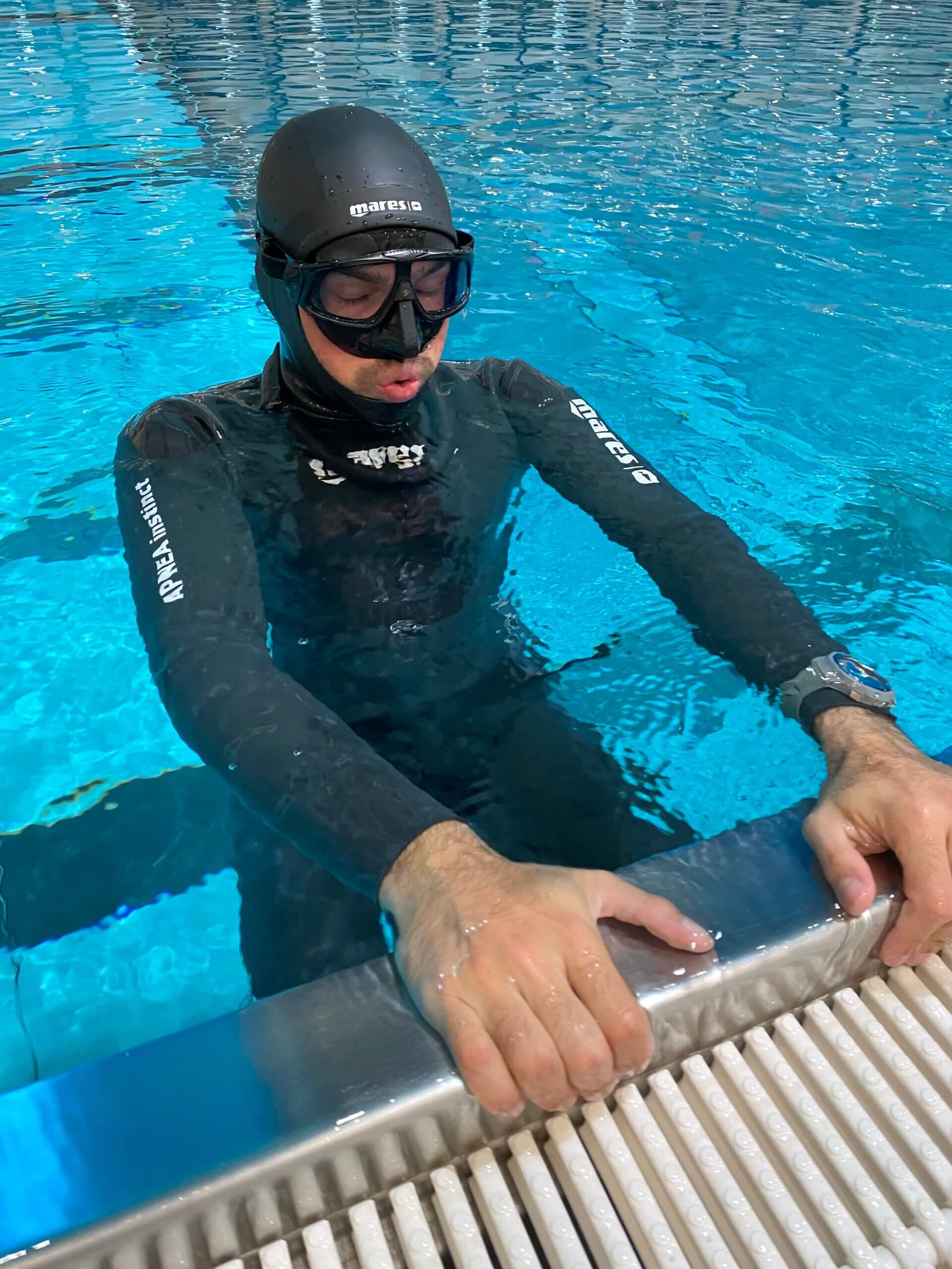 Y40 Terme Montegrotto, Italien – Free Diven & Tauchen im tiefsten Thermal Pool der Welt